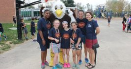 New Eagle Elementary School Runs for Fun and FLITE