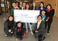 T/E Chinese-American Parents Group Raises More Than $5,200 for FLITE
